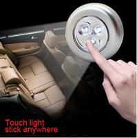mini protable 3pcs leds LED camping emergency light ,car interior lightings,night reading lights free shipping