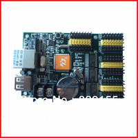 HD-E41 single color & dual color led control card, LAN port and USB control card, asynchronous  control card