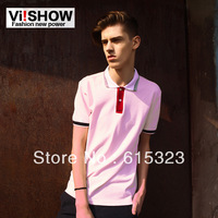 Viishow2013 polo shirt male the trend of fashionable casual male slim polo shirt polo shirts
