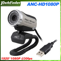 Free Shipping! Aoni HD Webcam ANC HD1080P Computer & Laptop High Definition Cameras Built-in Microphone