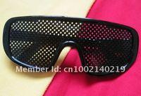 Fashion Exercise Vision Pinhole Glasses Eyes Eyesight Improve New Shape High Quality Hot Sell HK Post Freeshipping 30 pcs