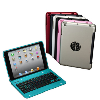 For Apple iPad mini MAC BOOK AIR STYLE Wireless Bluetooth Keyboard Hard Case