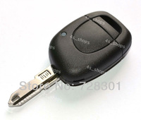 New Replacement Fob No Chip Uncut Key Shell Case For Renault Twingo Clio Kangoo Master One Button Free Shipping