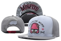 Trukfit Misfits Snapback Adjustable caps white/grey new arrival Are Extremely Loved By People Being A New Fashion Trend !
