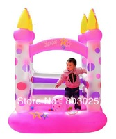 Free Shipping Bounce House Inflatables, Inflatable Princess Castle Toy, Outdoor Playhouse Toy For Children