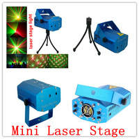 150MW Mini Red Green Moving Party Laser Stage Light laser DJ party light Twinkle 110-240V 50-60Hz