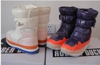 Free shipping.2014 new Rubber duck snow boots waterproof slip-resistant shoes,1pair,2 color