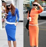 2013 summer women's fashion set sportswear outerwear slim hip long half-length skirt casual skirt summer