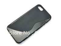1PC Hot Sale S Line Soft TPU Case for Iphone 5 5G