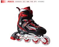 Skating shoes child set adult skating shoes roller skates skating shoes adjustable flash