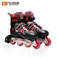 Skating shoes inline roller skates adult roller blade shoes set 661a flash wheel