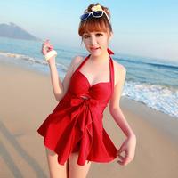 free shipping free shipping Plus size bikini piece set big large cup steel push up c cup female swimwear