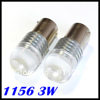 Wholesale white 1156 ba15s 3W High power Led Car Reverse Light High quality ba15s turn led light