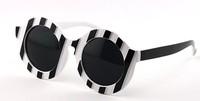 New 2014 Trend Premium Womens UV Protection Designer Round Sunglasses Glasses