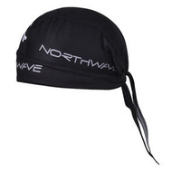New cool black bike cycling cap Sweat Proof Hat Bicycle Team Headband Riding Pirate Cap for men
