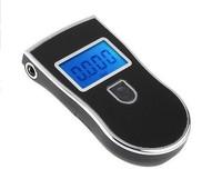 New Protable Police Breathalyzer Analyzer Detector Digital LCD Alcohol Breath Tester  Free Shipping