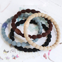 Accessories hair accessory hair accessory black plus velvet hair rope tousheng headband hair accessory