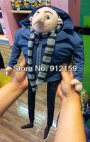 "Despicable Me 2 Plush Toy Gru 15"" Villain Papa Collectible Minion Stuffed Animal Doll"