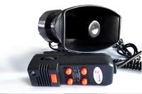 Hot 60W Car alarm loudspeaker 5 tones car alarm loudspeaker fire vehicles tone ambulance tone police vehicle alarm tone speaker