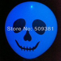 100 pcs/Lot, Free Shipping, High Quality. Led Light Flashing Balloons. Conventional  Festival Halloween Party Decoration.