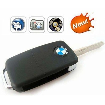 High Quality  -  BMW Car Key keychain Mini Camera DV Motion Detection 720*480 Video Camera Mini DVR Camcorder  video recorder