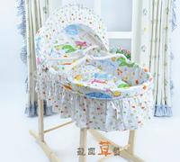 Baby cradle cabarets car baby basket piece set none radiation mosquito net  -YL6