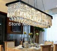 100cm Modern Contemporary Crystal Pendant Lamp Ceiling Light Chandelier Lighting