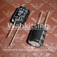 20 PCS  47uF/400V 16*20mm DIP 400V 47uF Aluminum Electrolytic Capacitor 47uF 400V