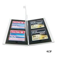 CF Compact Flash Card CASE HOLDERS ALUMINUM CASE BOX