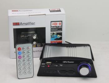 Hi-fi amplifier t-290 card small amplifier computer small amplifier sd usb flash drive car amplifier