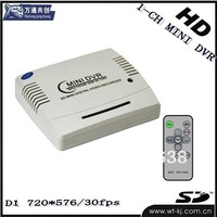HD Mobile DVR with av-out monitor,1 Channel mobile Dvr