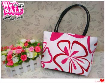 Print oxford fabric bag small handbags tote bag small casual tote bag female bags  MOQ>=10USD