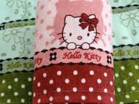 Freeshipping 100% cotton cartoon cat pattern faceable