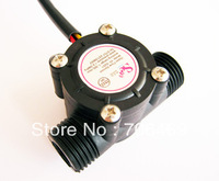10pcs/lot Water flow sensor YF-S201 flowmeter Hall flow sensor Water control 1-30L/min 2.0MPa