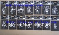 New model & Most popular auto sticker  64 designs (64pcs/lot )  --- DH2596