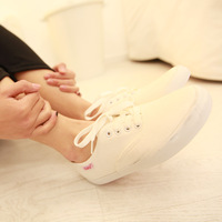 Monkey candy color ked casual shoes canvas shoes low all-match spherule shoe lacing shoes
