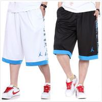 Male Basketball Shorts Sports Capris Plus Size Basketball Shorts Men's Sports Shorts Men's  Bulls Shorts