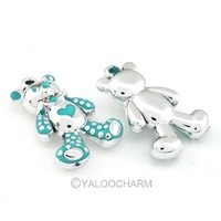 Mixed Style 50x Wholesale Sample Charms Bear Alloy Pendant Finding