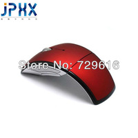 Free Shipping 10pieces/lot New 2.4GHz Wireless Foldable Folding Arc Optical Mouse For Microsoft For Laptop