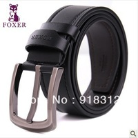FOXER 2013 genuine leather belt men's belts brand casual leather belts men belt Special explosion models Free Shipping