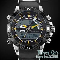 WEIDE Casual Watch Sport Mens Waterproof Dive Quartz Watch Wristwatch