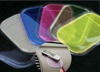 FREE SHIPPING owerful Silica Gel Magic Sticky Pad Anti-Slip Non Slip Mat for Phone PAD mp3 mp4 Car