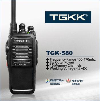 hands free walkie talkie TGK-580 3W walkie-talkie