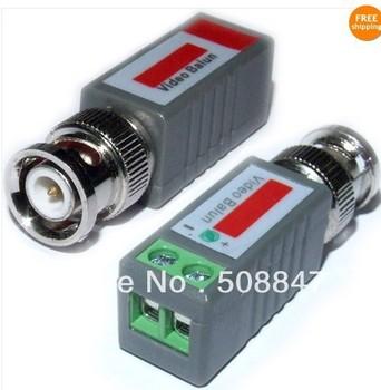 20PCS BNC CCTV VIA Video Balun UTP transceive Terminal