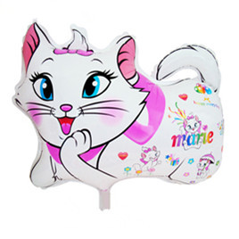 Free Shipping 50PCS/LOT Mary Cat Cartoon Mylar Balloons&Helium Balloons 60cmx46cm Wholesales balloons