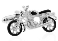 Classic The French Shirt  Personalized  Cuff links  The Motorcycle Design Cufflinks for mens Jewelry   A1012