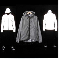2013 new Autumn, and winter . Reflective.3M jacket  Waterproof.  Men and Male outdoor sport   Man coat  tad
