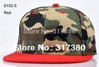 Wholesale 10pcs 2014 Fashion Camouflage Men Women Snapback Hat Baseball Cap Mens Blank Snap Backs Hats Spring Womens  Sport Caps