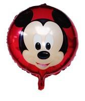 New arrive 10pcs/lots  18 inch round shape Mickey balloon , foil balloon