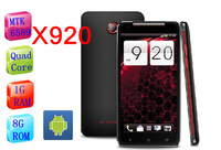 Free shipping STAR S5 smart ANDROID MTK6589 RAM1G ROM 8G quad core H920 Android 4.21 5.0 'Screen 12.1MP Super perfect(XL)